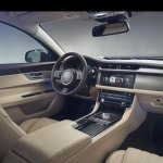2016 Jaguar XF dashboard official image