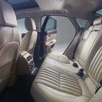2016 Jaguar XF rear seat official image