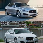 2016 Jaguar XF vs 2012 Jaguar XF front quarter