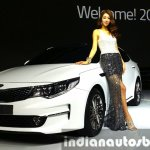 2016 Kia K5 2016 Kia Optima at Seoul Motor Show 2015