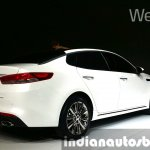 2016 Kia K5 2016 Kia Optima rear quarter at Seoul Motor Show 2015