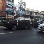 2016 MG GS SUV spied thailand front three quarter