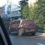 2016 MG GS SUV spied thailand rear three quarter