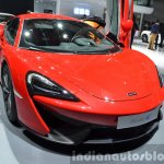 2016 McLaren 540C front quarter at the Auto Shanghai 2015