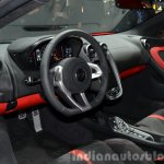 2016 McLaren 540C interior at the Auto Shanghai 2015