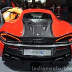 2016 McLaren 540C rear at the Auto Shanghai 2015