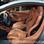 2016 McLaren 570S interior at the Auto Shanghai 2015