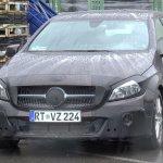 2016 Mercedes A-Class (Facelift) front spyshot