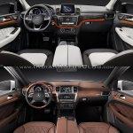 2016 Mercedes GLE Class vs 2012 Mercedes M Class interior