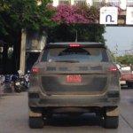 2016 Toyota Fortuner Thailand spied