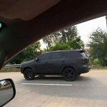 2016 Toyota Fortuner side Thailand spied