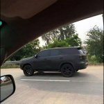 2016 Toyota Fortuner side spy shot Thailand
