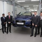 Audi India Technical Service Centre Inauguration group image