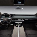 Audi Prologue allroad concept dashboard