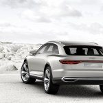 Audi Prologue allroad concept rear end