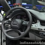 Audi Q7 e-tron 2.0 TFSI quattro cockpit at Auto Shanghai 2015