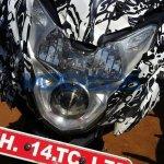Bajaj Pulsar 150AS headlight spied