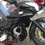 Bajaj Pulsar 200AS fairing at dealership