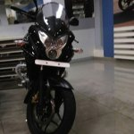 Bajaj Pulsar 200AS front angle at dealership