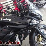 Bajaj Pulsar 200AS front disc at dealership