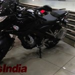 Bajaj Pulsar 200AS front quarter at dealership