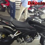 Bajaj Pulsar 200AS side at dealership