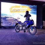 Bajaj Pulsar AS 150 side launched live