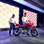 Bajaj Pulsar AS 200 side launched live