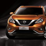 Chinese specification Nissan Murano front