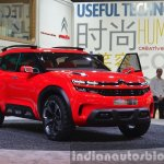 Citroen Aircross Concept front three quarter at Auto Shanghai 2015