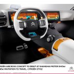 Citroen Aircross concept official image dashboard