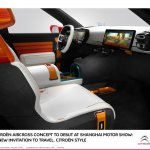 Citroen Aircross concept official image detachable display