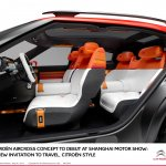 Citroen Aircross concept official image interior