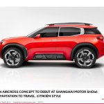 Citroen Aircross concept official image side view