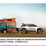 Citroen Aircross concept official image sketch