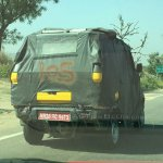 Eicher-Polaris Flexituff rear quarter spied