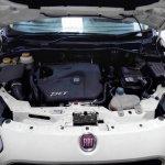 Fiat Punto Evo 1.4 T-Jet engine spied