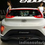 Hyundai Enduro Concept rear at the Seoul Motor Show 2015