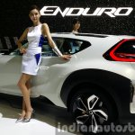 Hyundai Enduro Concept rear quarter at the Seoul Motor Show 2015