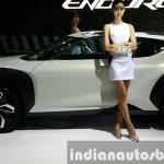 Hyundai Enduro Concept side at the Seoul Motor Show 2015