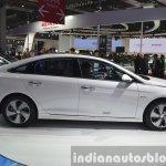 Hyundai Sonata Hybrid side at Auto Shanghai 2015