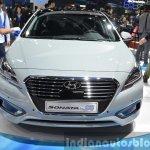 Hyundai Sonata Plug-in Hybrid front at Auto Shanghai 2015
