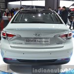 Hyundai Sonata Plug-in Hybrid rear at Auto Shanghai 2015