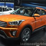 Hyundai ix25 front three quarter at Auto Shanghai 2015