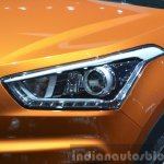Hyundai ix25 headlight at Auto Shanghai 2015