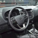Hyundai ix25 interior at Auto Shanghai 2015