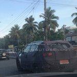 Hyundai ix25 rear quarter spied in Chennai