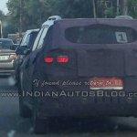 Hyundai ix25 rear spied in Chennai