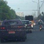 Hyundai ix25 spied in Chennai