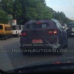 Hyundai ix25 taillights spied in Chennai
